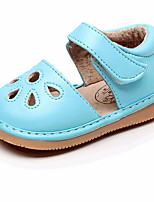 cheap -Girls' Shoes PU(Polyurethane) Spring & Summer First Walkers Sandals Buckle for Baby Fuchsia / Pink / Light Blue