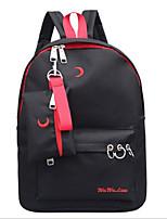 cheap -Women's Bags Canvas Bag Set 2 Pieces Purse Set Zipper Black / Red