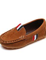 cheap -Boys' Shoes PU(Polyurethane) Summer Comfort Flats Walking Shoes for Kids Yellow / Brown / Wine