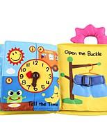 Недорогие -Игрушка для обучения чтению 3D / Читая книгу дошкольный Подарок 1 pcs
