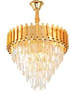 abordables -QIHengZhaoMing 4 lumières Cristal Lustre Lumière d'ambiance 110-120V / 220-240V, Blanc Crème, Ampoule incluse / 15-20㎡