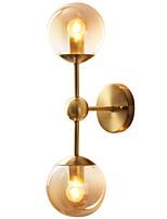 baratos -Retro / Vintage / Moderno / Contemporâneo Luminárias de parede Sala de Estar / Quarto Metal Luz de parede IP20 110-120V / 220-240V 60 W