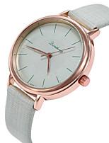 cheap -Women's Wrist Watch Casual Watch / Lovely PU Band Casual / Fashion Black / White / Green