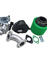 abordables -cg125 carb carburateur 38mm filtre à air couvercle collecteur d'admission d'admission ensemble pour 110cc 125cc dirt pit bike atv