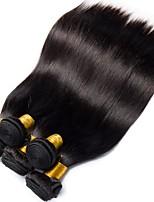 economico -6 pacchi Peruviano Liscio Cappelli veri Ciocche a onde capelli veri / Estensore / Bundle di capelli 8-28 pollice Tessiture capelli umani A macchina Classico / Migliore qualità / Per donne di colore