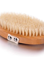 cheap -Tools / Bath Brush Portable / Multi-function / Easy to Use Contemporary Bristle Brush / Wood 1pc Sponges & Scrubbers / Shower Accessories