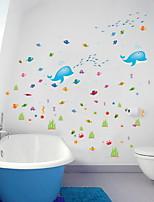 Недорогие -Декоративные наклейки на стены - Простые наклейки Животные Гостиная