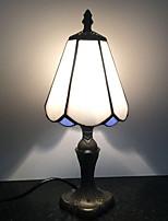 abordables -Métallique Décorative Lampe de Table Pour Salle de séjour Métal Bleu / Blanc