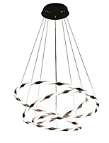 cheap -3-Light Circular Chandelier Ambient Light - Adjustable, 110-120V / 220-240V, Warm White / Cold White, LED Light Source Included