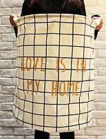 baratos -Armazenamento Arco / Dobrável Modern Poliéster 1pç organização do banho