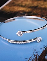 cheap -Women's Single Strand Bracelet Bangles - Trendy, Fashion Bracelet Gold / Silver For Party / Date