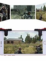 abordables -Contrôleurs de jeu Pour Android / iOS Portable Contrôleurs de jeu ABS 2 pcs unité