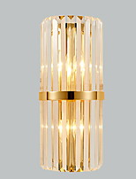 cheap -New Design / Cool Modern / Contemporary Wall Lamps & Sconces Living Room / Bedroom Crystal Wall Light 220-240V 40 W