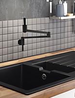 Недорогие -кухонный смеситель / Ванная раковина кран Живопись Горшок Filler По центру