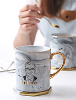 cheap -Drinkware Porcelain / China Tea & Beverage Boyfriend Gift / Girlfriend Gift 2pcs