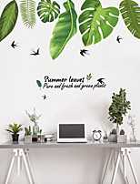 cheap -Decorative Wall Stickers - Plane Wall Stickers Animals / Floral / Botanical Living Room / Bedroom / Bathroom