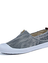 cheap -Men's Shoes Canvas Spring / Summer Comfort Loafers & Slip-Ons Beige / Gray / Blue