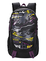 cheap -40 L Hiking Backpack - Lightweight, Rain-Proof, Breathability Outdoor Hiking, Camping, School Nylon Green, Blue, Violet