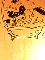 Недорогие -Декоративные наклейки на стены - Простые наклейки Натюрморт Ванная комната