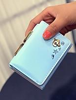 cheap -Women's Bags PU(Polyurethane) Wallet Pattern / Print Blue / Green