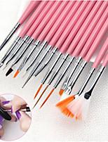 Недорогие -маникюр Набор кистей для ногтей Обычные Модный дизайн На каждый день Инструмент для ногтей / Дизайн ногтей