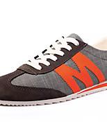economico -Per uomo Di corda / Lino Estate Comoda Sneakers Monocolore Grigio / Verde / Blu
