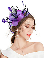 cheap -Women's Vintage / Elegant Hair Clip / Fascinator Bow / Mesh
