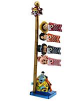 baratos -Figuras de Ação Anime Inspirado por One Piece Monkey D. Luffy PVC 7 cm CM modelo Brinquedos Boneca de Brinquedo Todos
