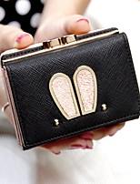 cheap -Women's Bags PU(Polyurethane) Wallet Buttons Blushing Pink / Purple / Silver