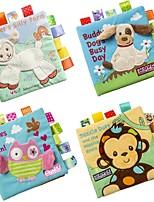 Недорогие -Игрушка для обучения чтению Животные / 3D / Читая книгу дошкольный Подарок 1 pcs
