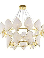 cheap -QIHengZhaoMing Crystal Chandelier Ambient Light 110-120V / 220-240V, Warm White, Bulb Included / G9 / 15-20㎡