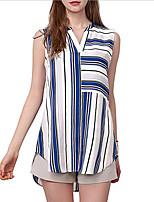 cheap -Women's Street chic Shirt - Striped