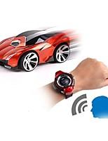 Недорогие -Машинка на радиоуправлении Watch Control Car 2.4G Автомобиль 1:24 Коллекторный электромотор КМ / Ч