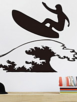 abordables -Autocollants muraux décoratifs - Autocollants avion Nautique Salle de séjour / Chambre à coucher