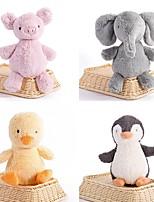 cheap -Penguin / Elephant / Chicken Stuffed Animal Plush Toy Animals / Cute / Lovely Acrylic / Cotton Gift 1 pcs