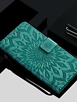 cheap -Case For Apple iPhone X / iPhone 8 / iPhone XS Wallet / Card Holder / with Stand Full Body Cases Flower Hard PU Leather for iPhone XS / iPhone XR / iPhone XS Max