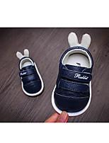 Недорогие -Мальчики Обувь Кожа Весна & осень Обувь для малышей На плокой подошве для Белый / Серый / Синий