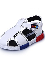 cheap -Boys' Shoes PU(Polyurethane) Summer Comfort Sandals Walking Shoes for Baby White / Black / Brown