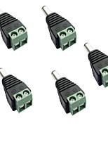 abordables -5pcs Accessoire de feuillard / avec connecteur DC Connecteur électrique Plastique pour la bande LED