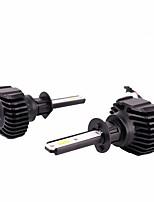 abordables -2pcs H1 Automatique Ampoules électriques 90 W LED Intégrée 9000 lm 32 LED Lampe Frontale For Volkswagen / Hyundai / Honda Elantra / Odyssey / CR-V Toutes les Années