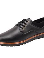 cheap -Men's Shoes PU(Polyurethane) Summer Comfort Sneakers Black / Yellow