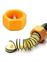 baratos -Utensílios de cozinha Plástico Utensílios de Fruta e Vegetais Manual Salad Tools / Fatiador Pepino 1pç
