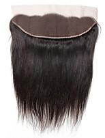 Недорогие -Yavida Перуанские волосы 4X13 Закрытие Прямой Бесплатный Часть Швейцарское кружево Натуральные волосы Все Классический / Удлинитель / Шерсть Новогодние подарки / Свадьба / Для вечеринок