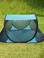 Недорогие -1 человек Палатка с экраном от солнца Один экземляр Самораскрывающаяся палатка Сферическая Палатка На открытом воздухе Легкие, Воздухопроницаемость, Защита от комаров для Путешествия / Пикник <1000 mm