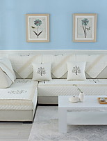 baratos -almofada do sofá Floral Jacquard Poliéster / Algodão Capas de Sofa