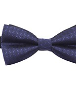 cheap -Men's Basic Cotton / Polyester Bow Tie - Polka Dot / Geometric / Color Block / All Seasons
