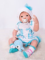 cheap -OtardDolls Reborn Doll Baby Girl 20 inch lifelike, Artificial Implantation Brown Eyes Kid's Girls' Gift