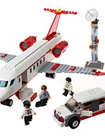 cheap -GUDI Building Blocks 334 pcs Plane / Aircraft Stress and Anxiety Relief / Parent-Child Interaction Plane Gift