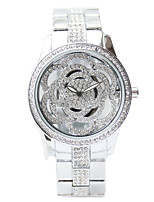 cheap -Women's Dress Watch Japanese Chronograph / Creative Stainless Steel Band Elegant Silver