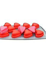 cheap -Bakeware tools Silicone Valentine's Day / DIY For Ice / Ice Cream Cake Molds / Dessert Tools 1pc
